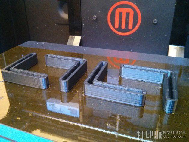 打印机角托  稳定器  3D模型  图10