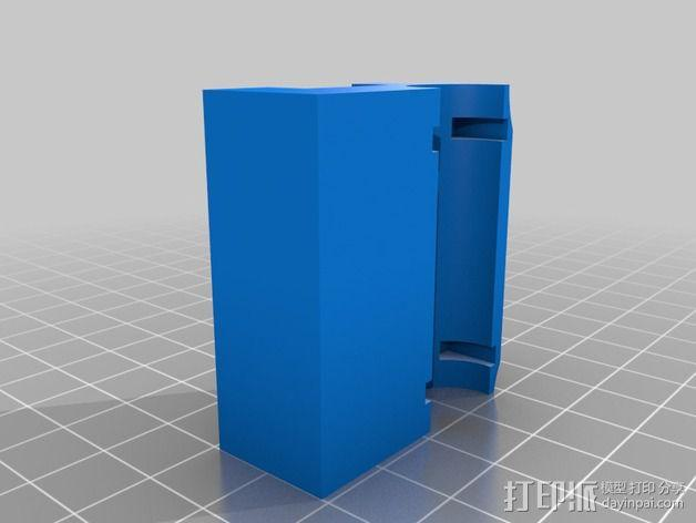 QU-BD One Up /Two Up 打印机Z轴校准器垫片 3D模型  图4