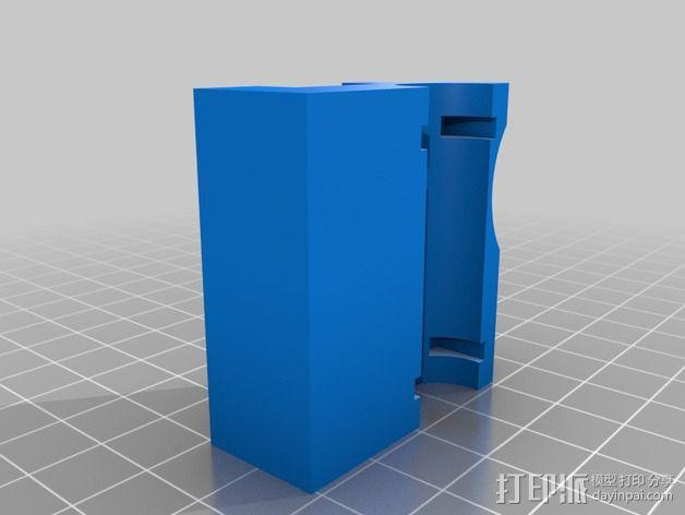 QU-BD One Up /Two Up 打印机Z轴校准器垫片 3D模型  图3
