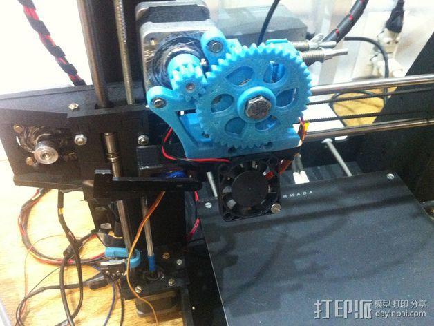 马达支架 3D模型  图7