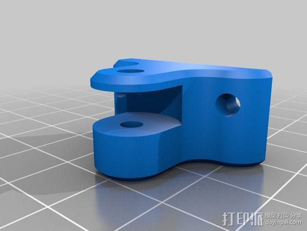 Delta挤出机 3D模型  图2