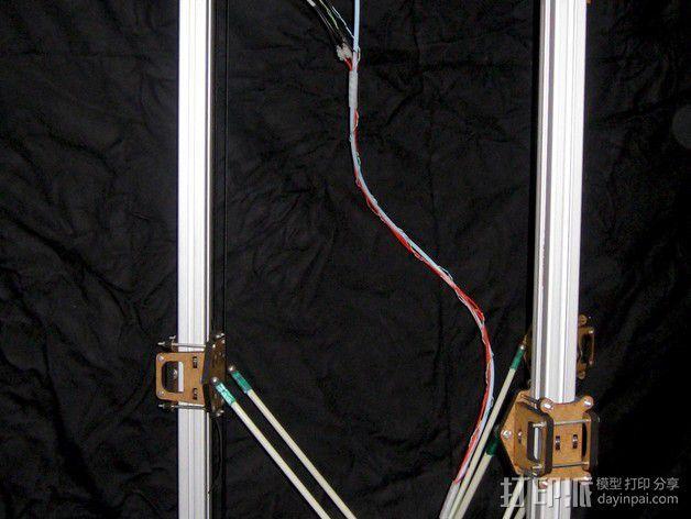 Delta 式打印机 3D模型  图1