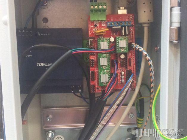 Delta 式打印机 3D模型  图3