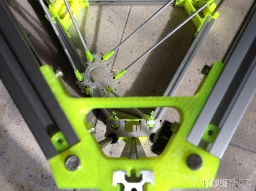 R/K Delta式打印机 3D模型  图1