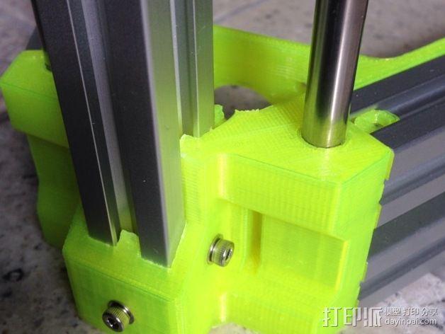 R/K Delta式打印机 3D模型  图5