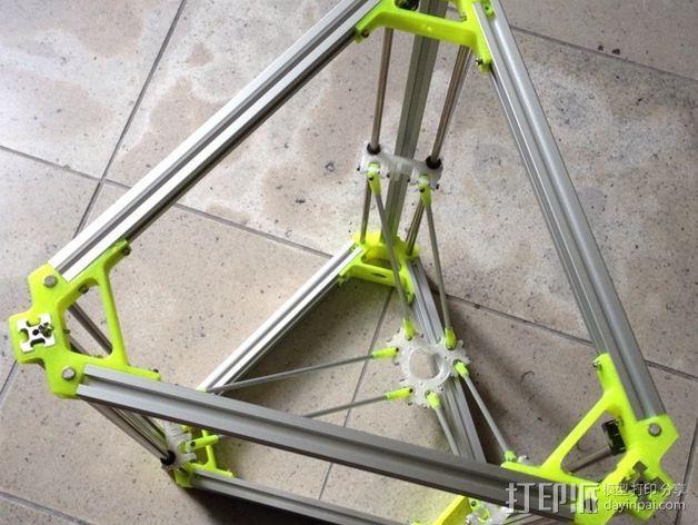 R/K Delta式打印机 3D模型  图9
