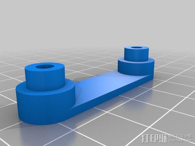 正时皮带套件 3D模型  图4