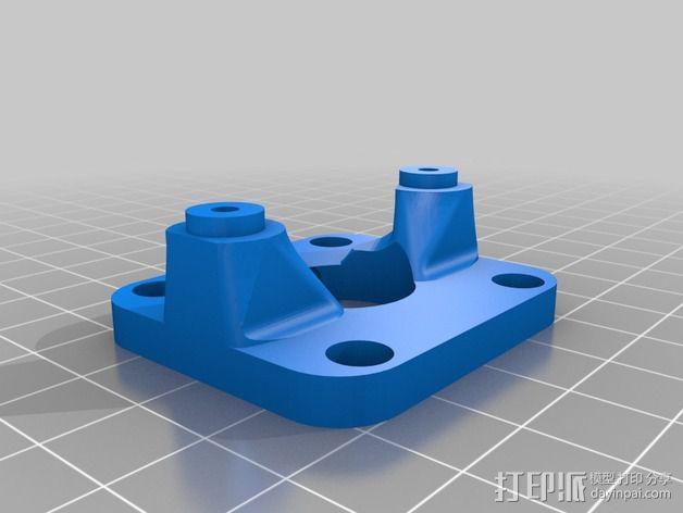 正时皮带套件 3D模型  图5