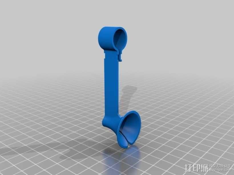 双导线器 3D模型  图3