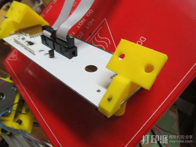 控制器框架 3D模型  图2