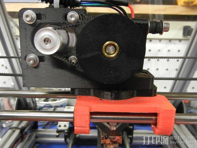 Greg's Wade皮带传动挤出机 3D模型  图4