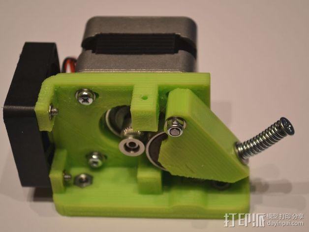 直线驱动Nema 17/23挤出机 3D模型  图9