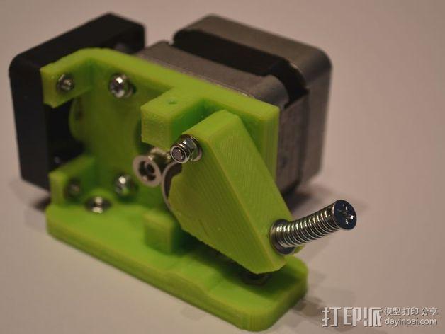 直线驱动Nema 17/23挤出机 3D模型  图10