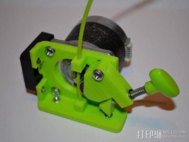 直线驱动Nema 17/23挤出机 3D模型  图8