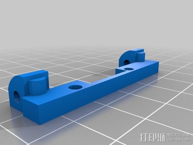 喷头支架 3D模型  图3