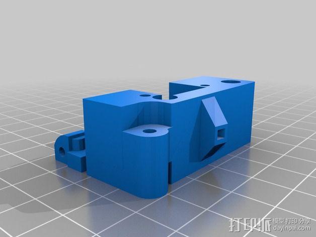 喷头支架 3D模型  图4
