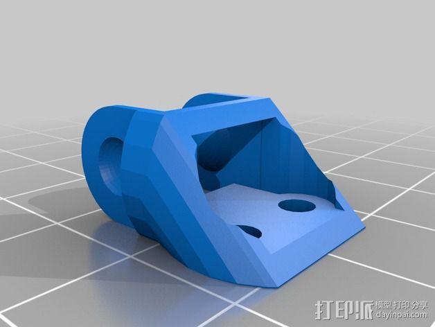 圆形锚链 3D模型  图4