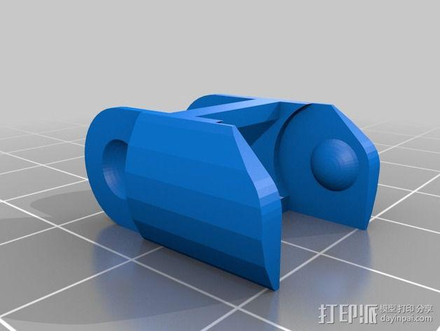 圆形锚链 3D模型  图3