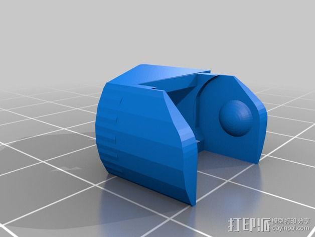 圆形锚链 3D模型  图7
