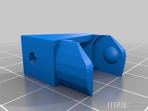 圆形锚链 3D模型  图6