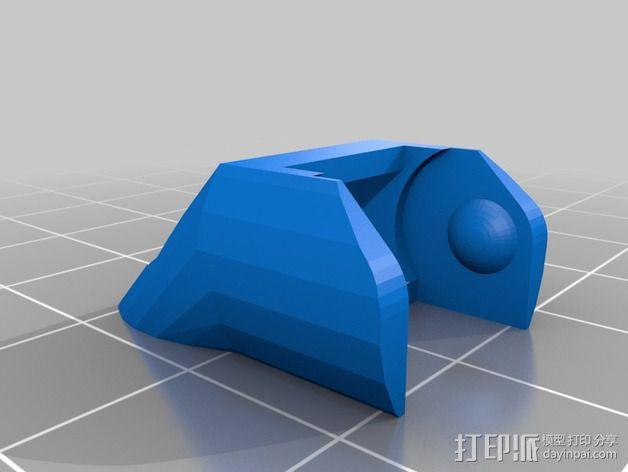 圆形锚链 3D模型  图5