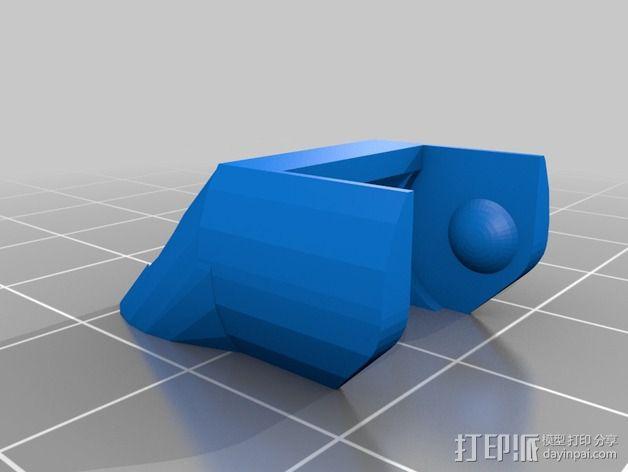 圆形锚链 3D模型  图11