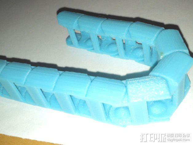 圆形锚链 3D模型  图12
