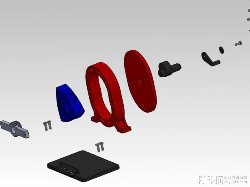 转子发动机 3D模型  图4