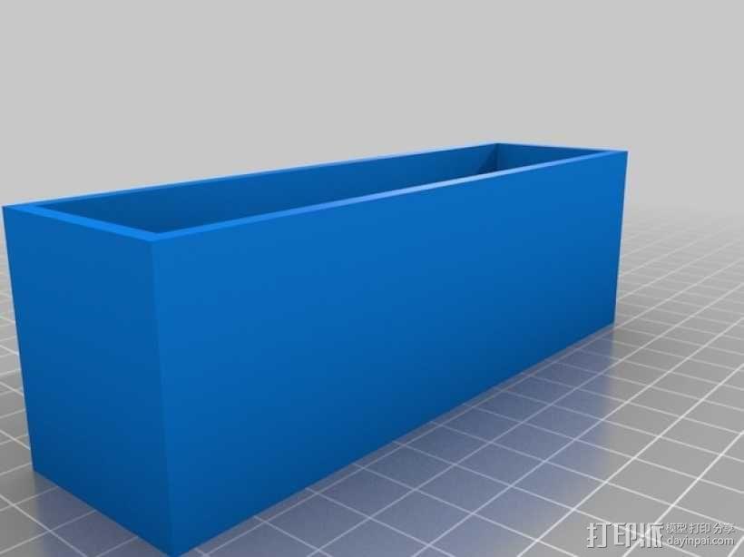 尼龙收纳盒 3D模型  图3