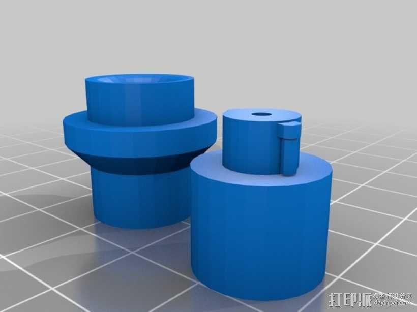 尼龙收纳盒 3D模型  图2