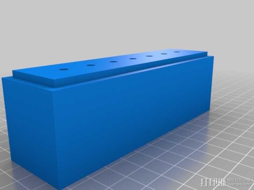 尼龙收纳盒 3D模型  图4
