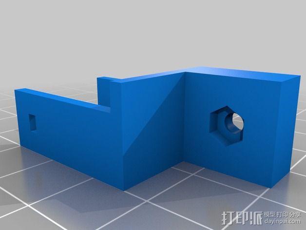Z轴限位开关 3D模型  图6
