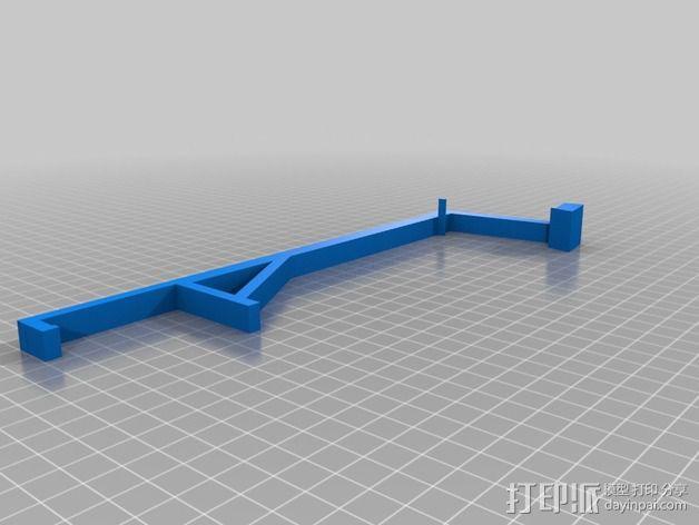 Iphone 4s / 4手机支架 3D模型  图2
