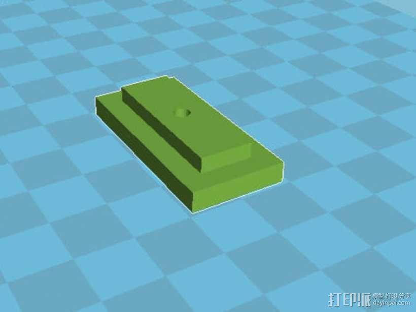 皮带张紧器 3D模型  图6
