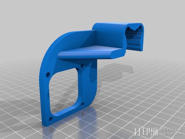 风扇导管 风扇支架 3D模型  图2