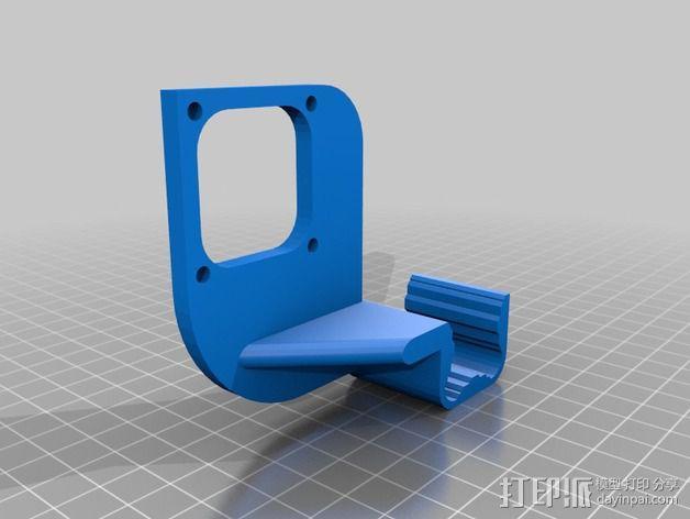 风扇导管 风扇支架 3D模型  图5