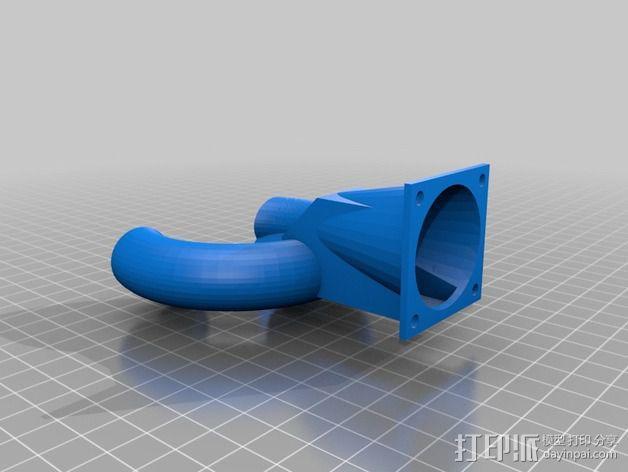 风扇导管 风扇支架 3D模型  图6