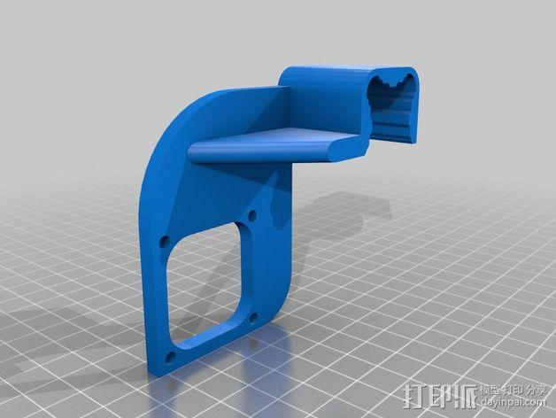风扇导管 风扇支架 3D模型  图8