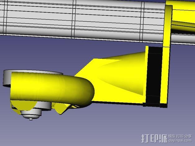 风扇导管 风扇支架 3D模型  图10