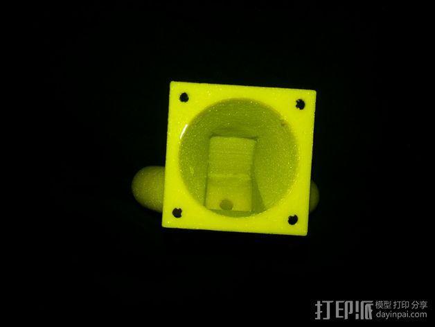风扇导管 风扇支架 3D模型  图12