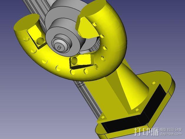 风扇导管 风扇支架 3D模型  图11