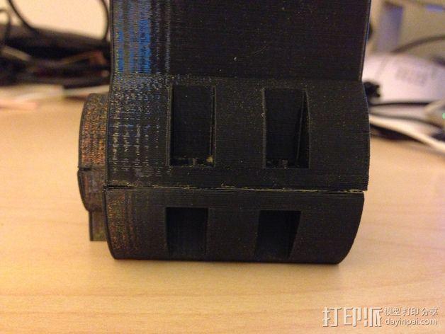 材料挤出料斗 3D模型  图2