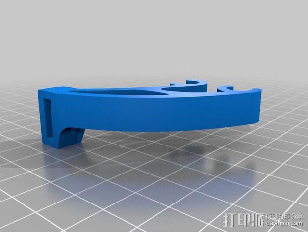Y轴限位开关 3D模型  图2