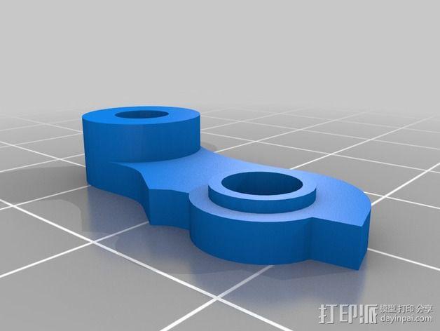 弹簧加压挤出机 3D模型  图2