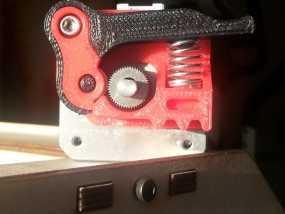 弹簧加压挤出机 3D模型