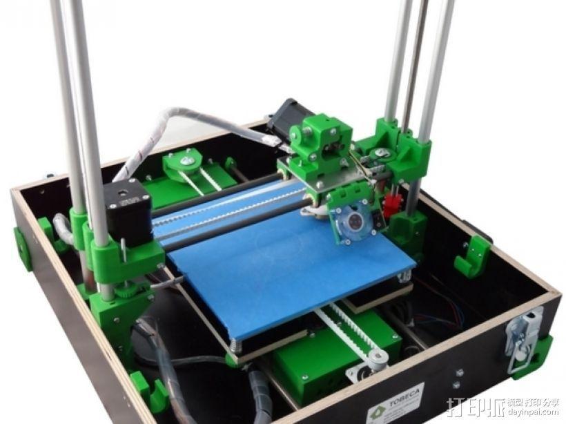 Tobeca 3D 打印机 3D模型  图1