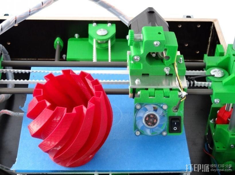 Tobeca 3D 打印机 3D模型  图6