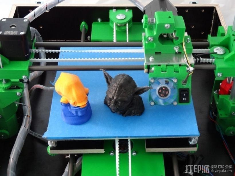 Tobeca 3D 打印机 3D模型  图5
