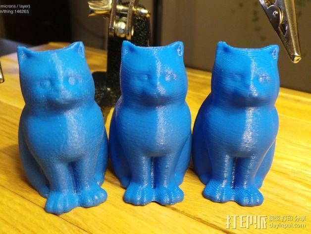 小猫 层厚填充测试 3D模型  图11