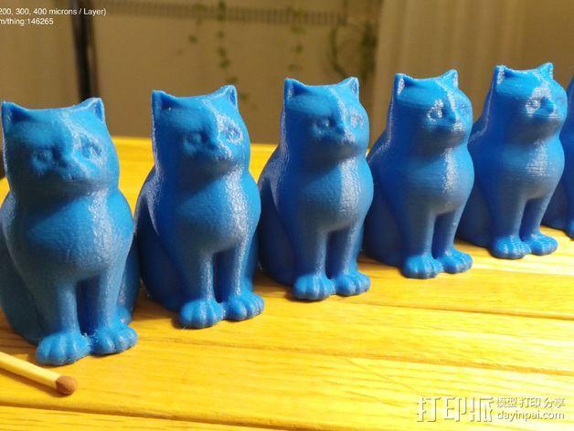 小猫 层厚填充测试 3D模型  图12